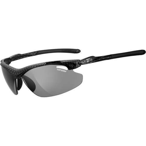 Tifosi Tyrant 2.0 Sunglasses (Carbon Frames - Smoke Polarized Fototec Lenses)