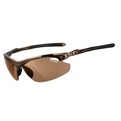 Tifosi Tyrant 2.0 Sunglasses (Mocha Frames - Brown Polarized Fototec Lenses)