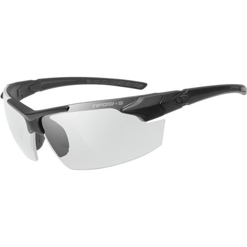 Tifosi Jet FC Tactical Sunglasses (Matte Black ANSI Z87.1 Frame - Clear Lenses)