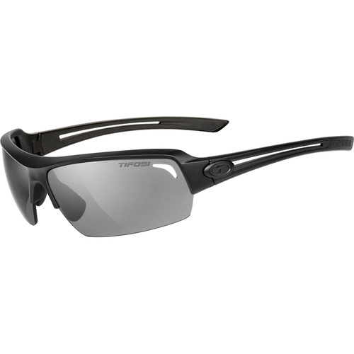 Tifosi Just Sunglasses (Matte Black Frame - Smoke Gray)