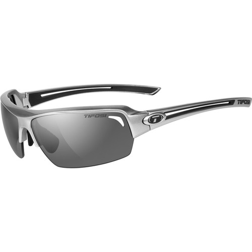 Tifosi Just Sunglasses (Gloss Gunmetal Frame - Smoke Gray)