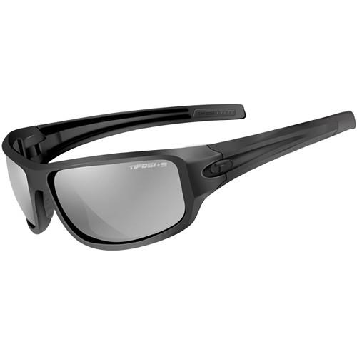 Tifosi Bronx Tactical Sunglasses (Matte Black Frames - Smoke Lenses)