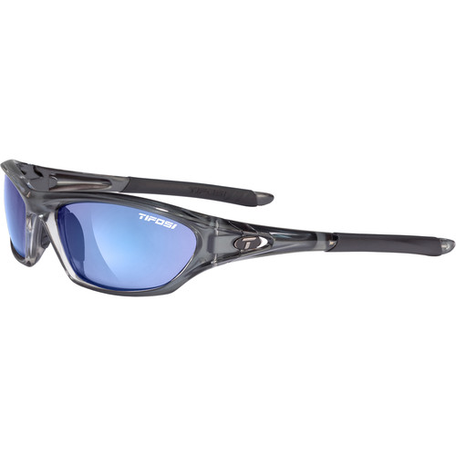 Tifosi Core Sunglasses (Crystal Smoke Frames - Smoke Blue Lenses)