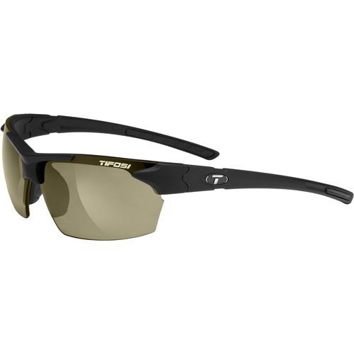 Tifosi Jet Sunglasses (Matte Black Frames, GT Lenses)