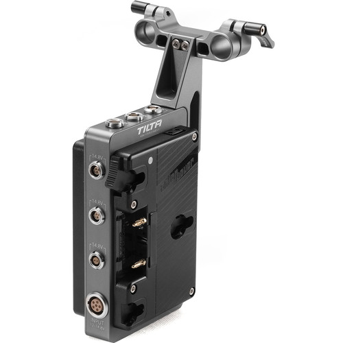 Tilta Dual-Sided Battery Plate with 15mm Rod Adapter