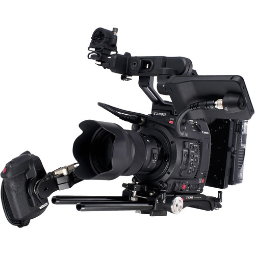 Tilta Camera Cage for Canon C200 with Battery Plate (Gold Mount)