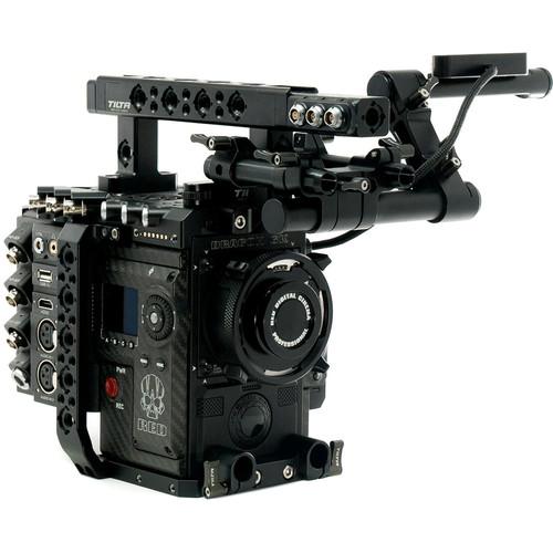 Tilta ESR-T01 Rig with Advanced Tilta I/O Module for RED DSMC2 Cameras (Gold Mount)