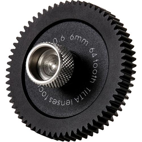 Tilta Follow Focus Lens Drive Gear for FF-T05 6mm 0.6 MOD, 64-Tooth