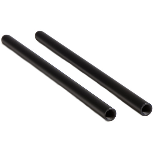 "Tilta Threaded 15mm Rods (Black, 8"", Pair)"