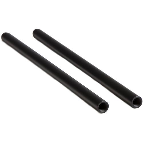 "Tilta Threaded 15mm Rods (Black, 8"", Pair )"