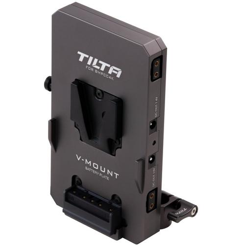 Tilta V-Mount Battery Plate for BMPCC 4K Camera Cage