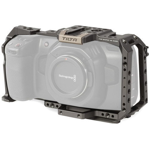 Tilta Full Camera Cage for Blackmagic Design Pocket Cinema Camera 4K/6K (Tilta Gray)