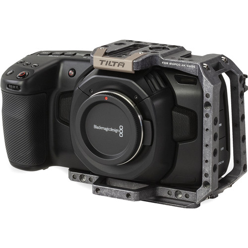 Tilta Half Camera Cage for BMPCC 4K/6K (Tactical Gray)