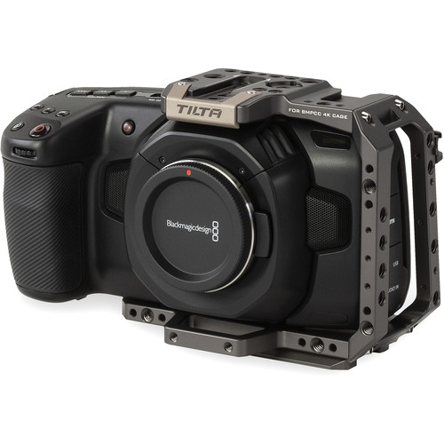 Tilta BMPCC4K - Half Camera Cage (Tilta Gray)