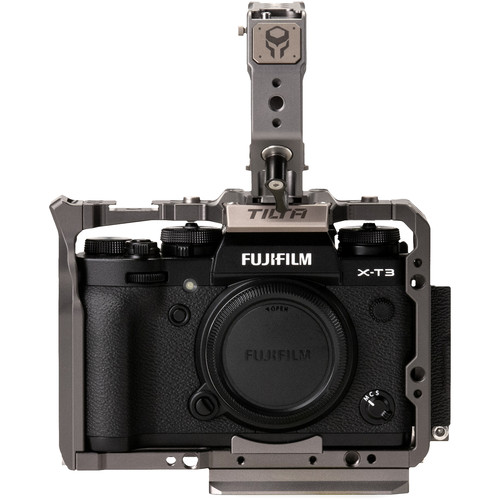 Tiltaing Camera Cage Kit A for FUJIFILM X-T3 (Tilta Gray)