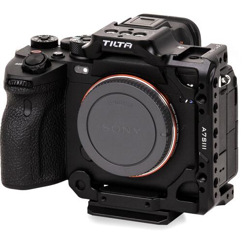 Tilta Half Camera Cage for Sony a7S III (Black)