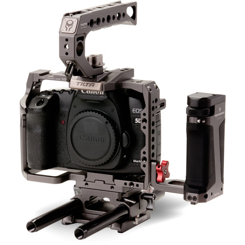 Tiltaing Camera Cage Kit C for Canon EOS 5D and 7D Series (Tilta Gray)