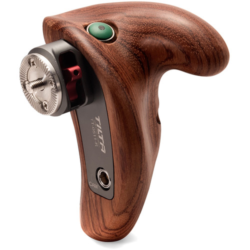 Tilta Right-Side Wooden Handle 2.0 with Run/Stop Button for Panasonic GH4/GH5/GH5s