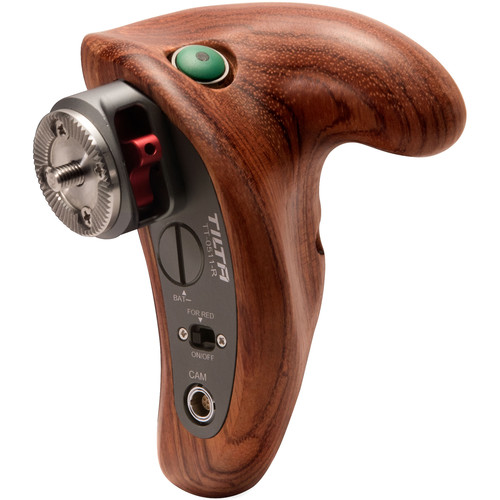 Tilta Wooden Handle with Control Trigger for Panasonic GH4/GH5 Cameras