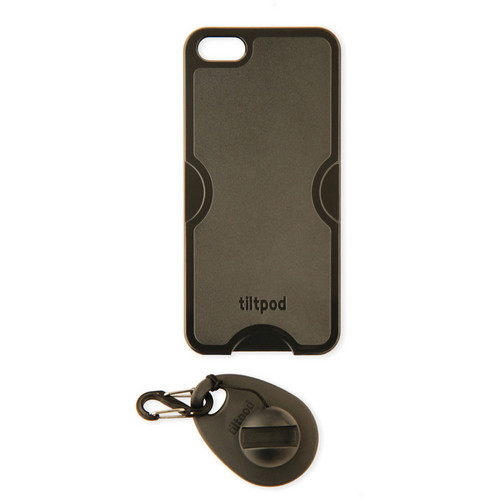 tiltpod Magnetic Keychain Stand for the iPhone 5 (Black)