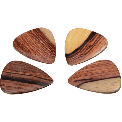 Timber Tones Timber Tones Burmese Rosewood Guitar Picks (4-Pack)