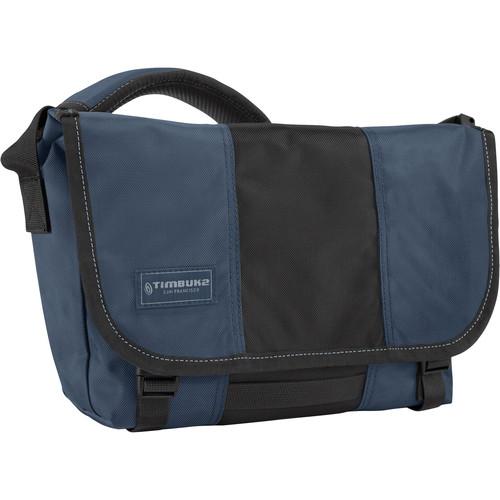 Timbuk2 Classic Messenger Bag (Extra Small, Dusk Blue/Black)