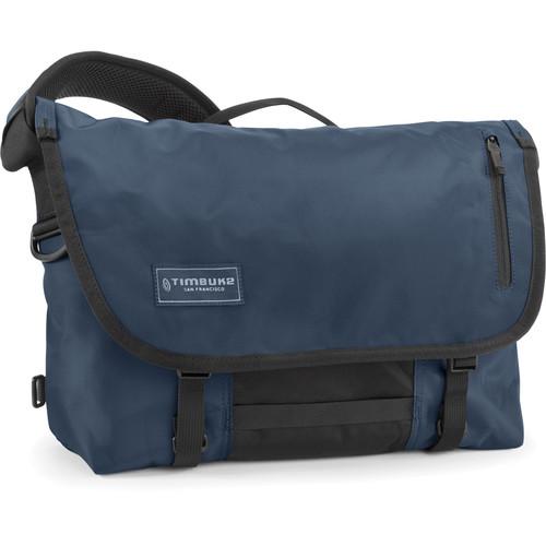 Timbuk2 Dashboard Laptop Messenger Bag (Small, Dusk Blue/Black)