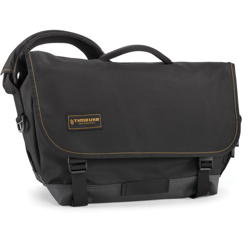 Timbuk2 Stork Diaper Messenger Bag (Black/Gold)