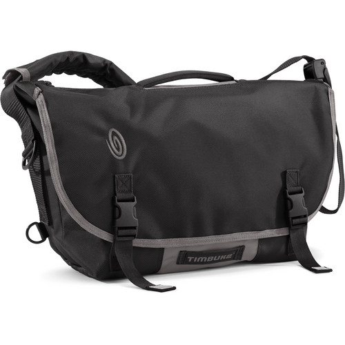 Timbuk2 D-Lux Laptop Bondage Messenger Bag (Small, Black)