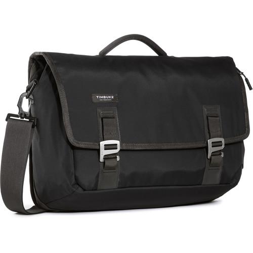 Timbuk2 Command Messenger Bag (Medium, Jet Black)