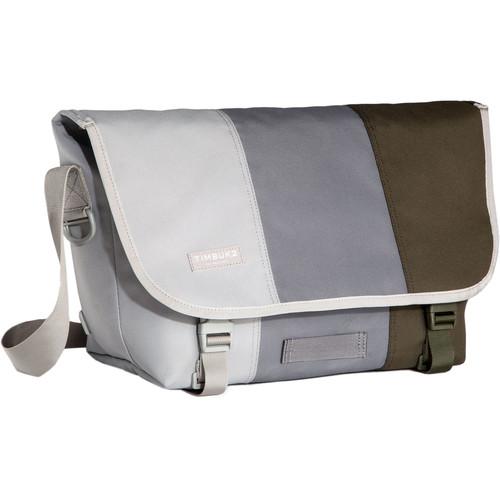Timbuk2 Tres Colores Classic Messenger Bag (Medium, Cinder)