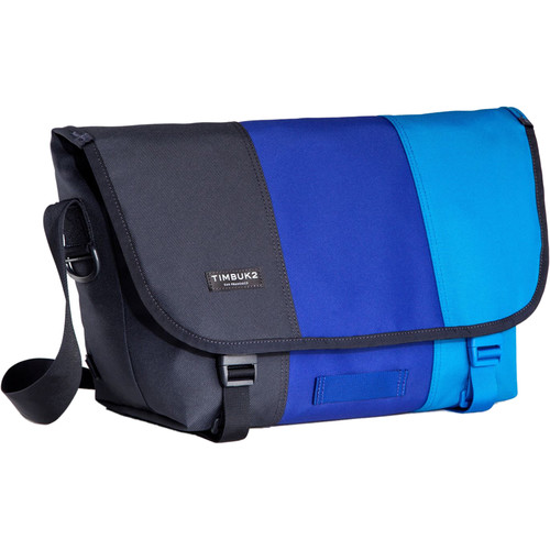 Timbuk2 Tres Colores Classic Messenger Bag (Medium, Lagoon)