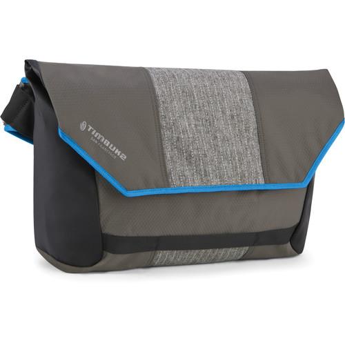 Timbuk2 Especial Claro Cycling Laptop Messenger Bag (Medium, Black Pinstripe/Pacific)