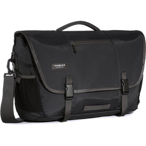 Timbuk2 Commute Messenger Bag (Medium, Jet Black)