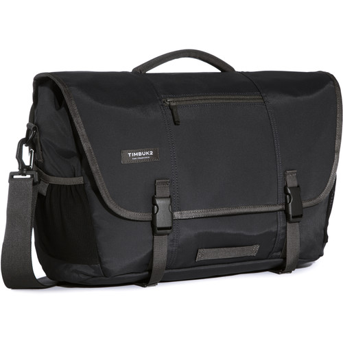 Timbuk2 Commute Messenger Bag (Large, Jet Black)