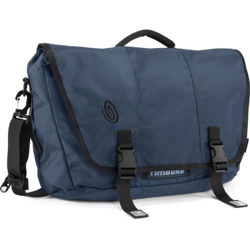 Timbuk2 Commute Laptop Messenger Bag (Small, Dusk Blue/Black)