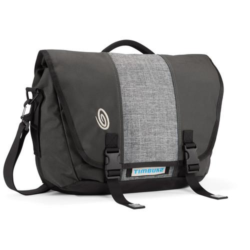 Timbuk2 Commute Laptop TSA-Friendly Messenger Bag (Medium, Gray)