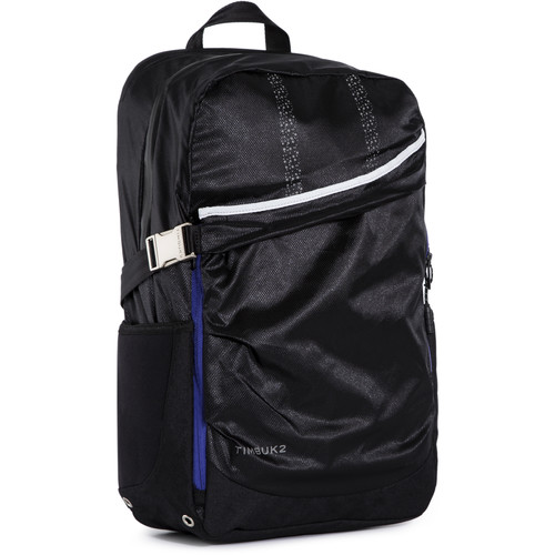 Timbuk2 Lux Weather-Resistant Zip Backpack (Black/Blueberry)