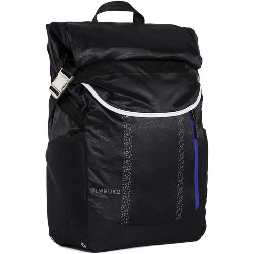 Timbuk2 Lux Water-Resistant Backpack (Black/Blueberry)