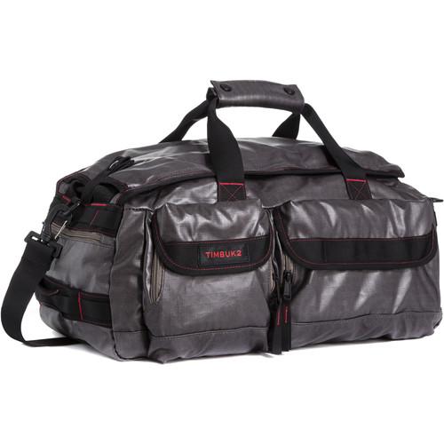 Timbuk2 2015 Navigator Duffel Bag (Small, Coated Ripstop, Carbon/Fire)
