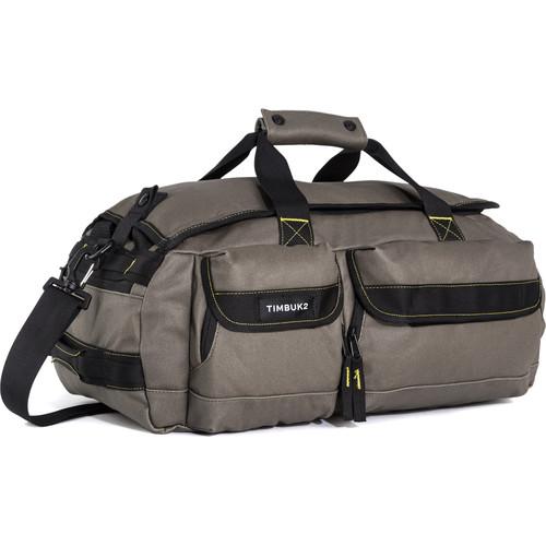 Timbuk2 2015 Navigator Duffel Bag (Small, Cotton Canvas, Army/Acid)
