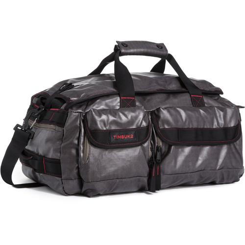 Timbuk2 2015 Navigator Duffel Bag (Medium, Coated Ripstop, Carbon/Fire)