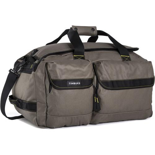 Timbuk2 2015 Navigator Duffel Bag (Medium, Cotton Canvas, Army/Acid)