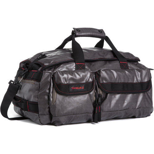 Timbuk2 2015 Navigator Duffel Bag (Large, Coated Ripstop, Carbon/Fire)