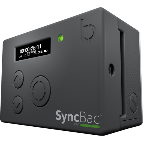Timecode Systems SyncBac PRO Timecode Sync System for GoPro HERO4 Black/Silver