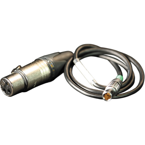"""Timecode Systems 24"""" Timecode 5-Pin LEMO to XLR (F) Standard Input Cable for Timecode Buddy Wi-Fi Master"""