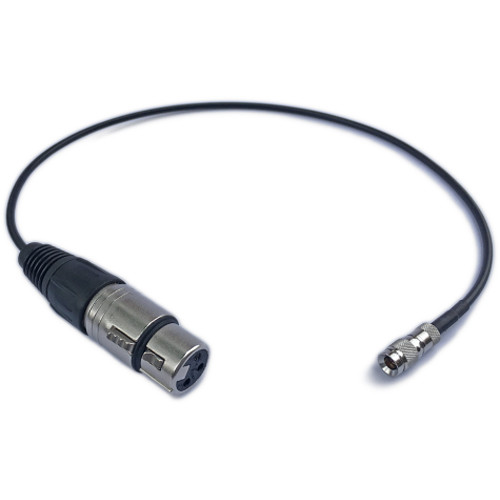 Timecode Systems DIN 1.0/2.3 to XLR Female Cable for UltraSync ONE