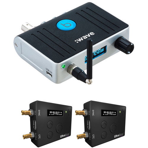 Timecode Systems :wave Generator with 2 UltraSync ONE Receivers