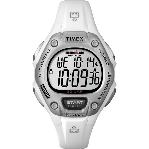 Timex IRONMAN 30-Lap Fitness Watch (White)