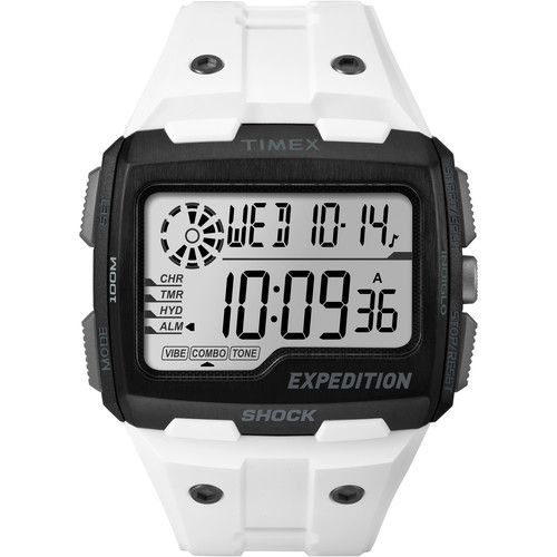 Timex Expedition Grid Shock Watch (White)